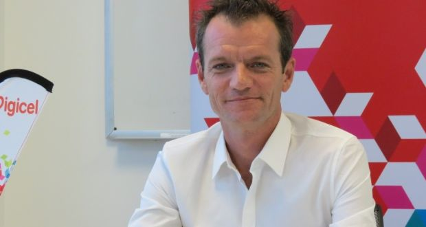Maarten Boute, chairman de Digicel / Photo: Irishtimes