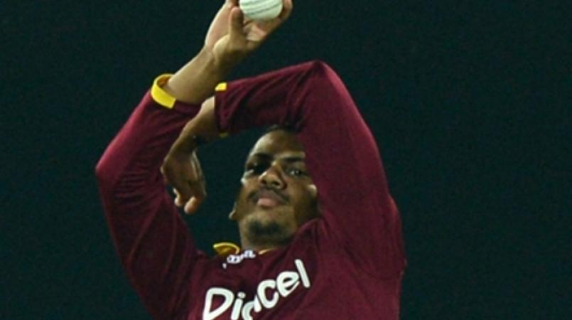 West Indies offspinner Sunil Narine.