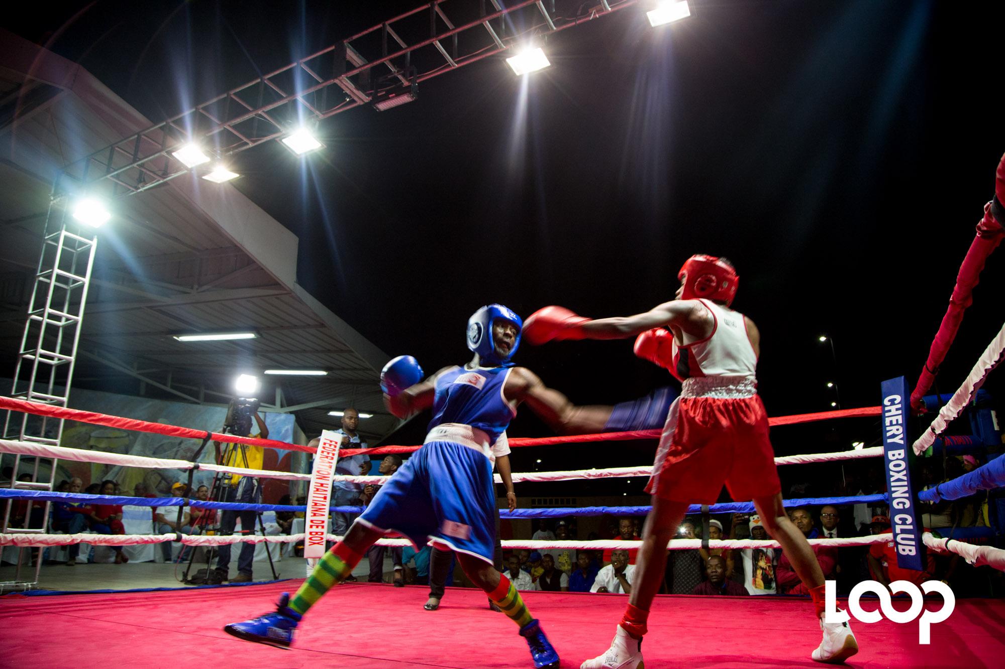 Tournoi internationale de boxe Hugo Chavez, une grande première réussi. Photo : LoopHaiti/Estailove St-Val