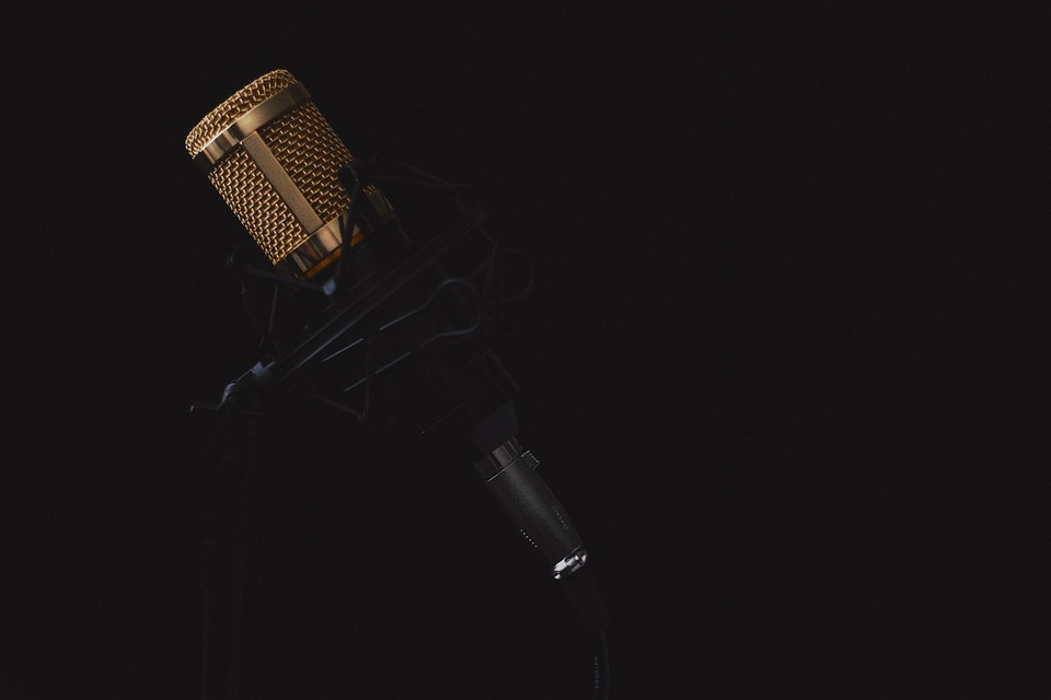 Image d'un microphone. Photo: Pixabay