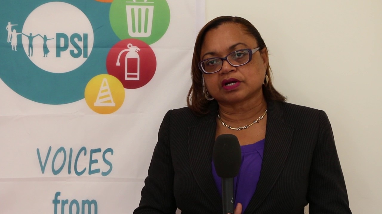 Helene Davis-Whyte, President of the Jamaica Confederation of Trade Unions (JCTU)