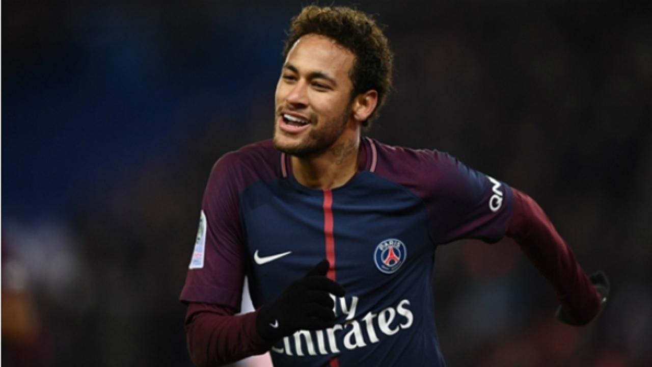 Paris Saint-Germain star Neymar.