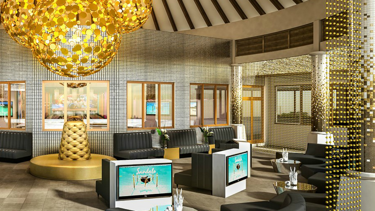 Inside of the newly opened Sandals Royal Barbados.  (PHOTO: Sandals Royal Barbados)