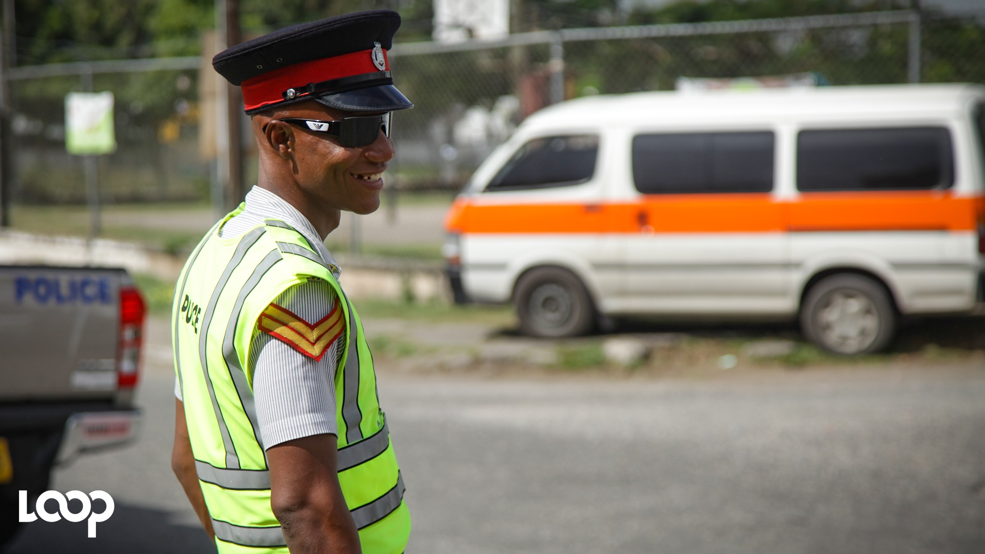 File photo of a traffic cop. (PHOTO: Shawn Barnes)