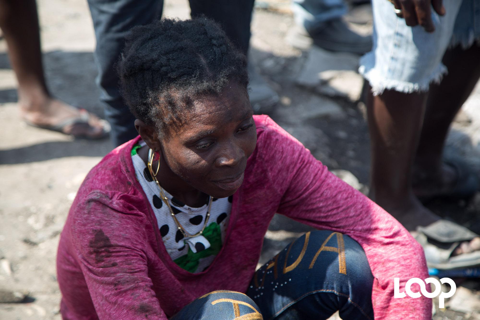 Sabine Lamour estime que le pays génère trop de souffrance et de frustration, l'Etat doit couper court à l'irresponsabilité comme mode de gestion politique. / Estailove St-Val/LoopHaïti