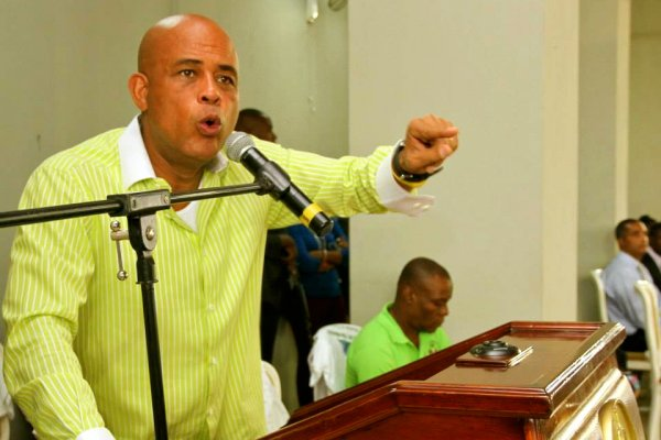 Michel Martelly. Photo: HCNN
