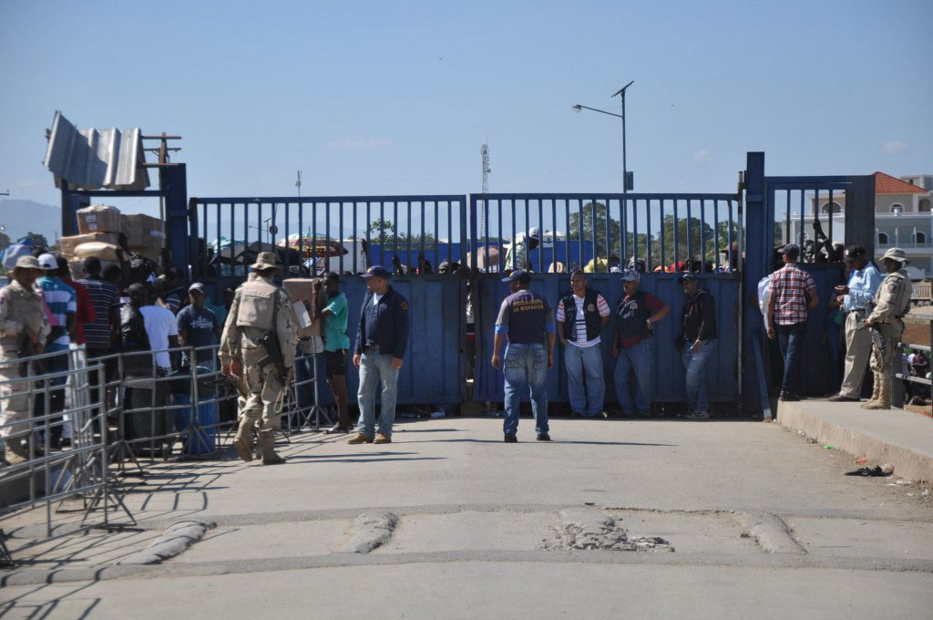 POLIFRONT: Haiti surveille désormais la frontière haïtiano-dominicaine. Photo crédit : CDN