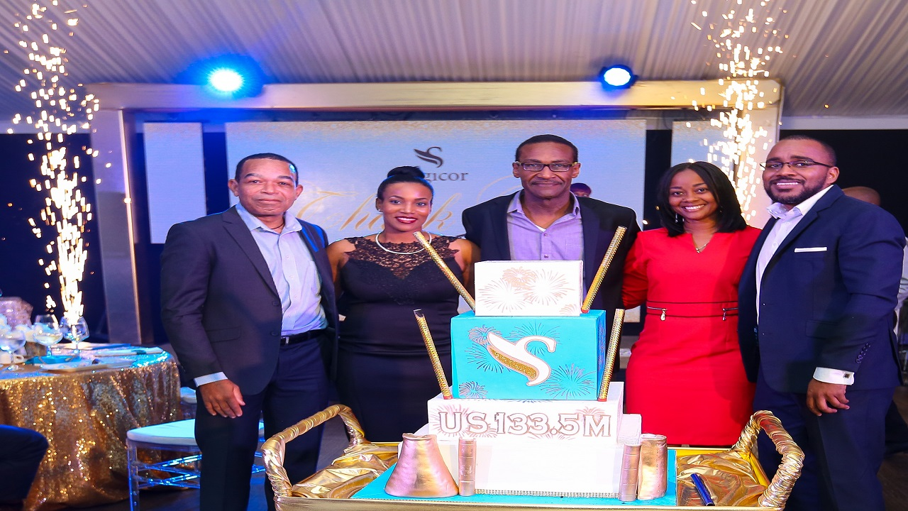 Companies of the Sagicor Group expressed their appreciation to companies and individuals who participated in the $US133.5 million syndicated  loan to Jamaica Energy Partners.
