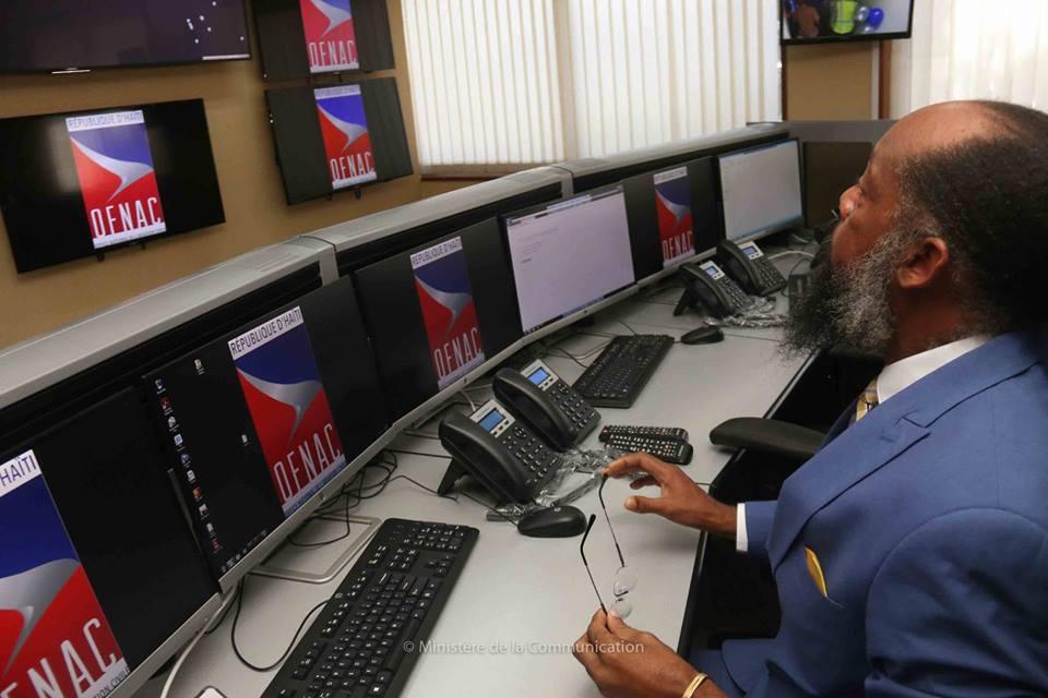 Le centre de coordination, de recherche et de sauvetage / Photos: Ministère de la communication