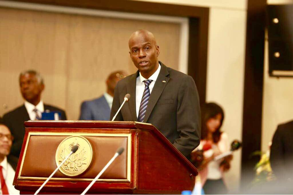 """""""La diversité linguistique fait la richesse culturelle de la Caraïbe"""", dixit Jovenel Moise./ Photo: Président Jovenel Moise (Twitter)"""