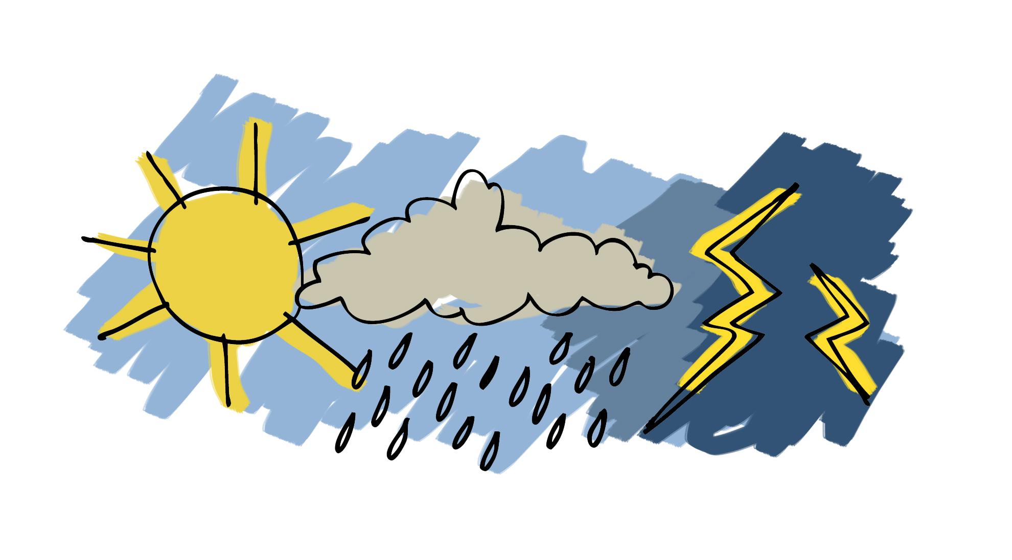 Les activités de pluie restent rares, excepté pour ces 3 départements