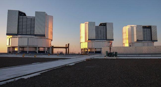 Une vue générale de l'observatoire de Paranal, au Chili, le 6 février 2018. Photo: AFP / Miguel SANCHEZ