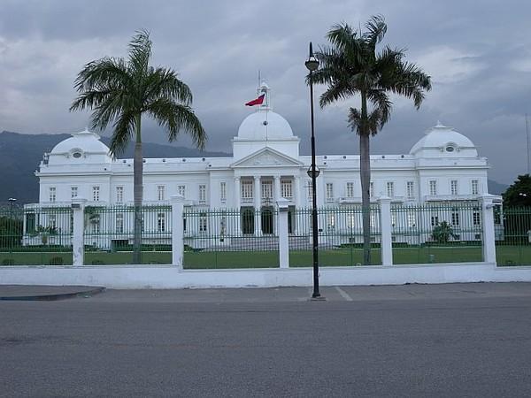 Le Palais national haïtien. Photos : MTP Haiti