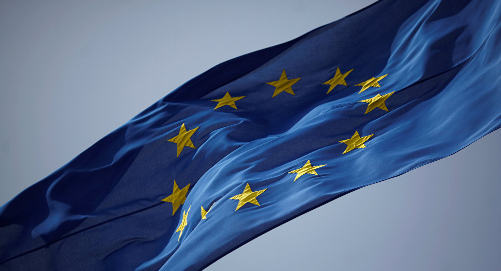 Drapeau de l'Union Européenne. Photo: REUTERS/ Jon Nazca