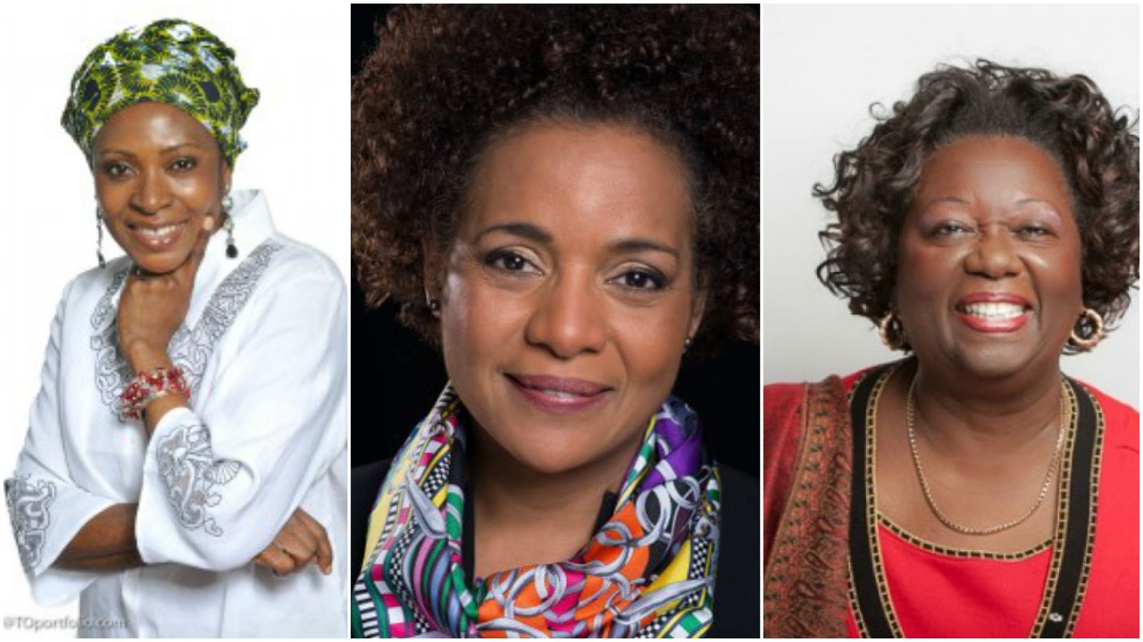 (L-R) Afua Cooper, Michaëlle Jean and Jean Augustine (Internet images)