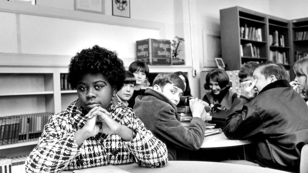 This undated file photo, location unknown, shows Linda Brown. Brown, the Kansas girl at the center of the 1954 U.S. Supreme Court ruling that struck down racial segregation in schools, has died at age 75.