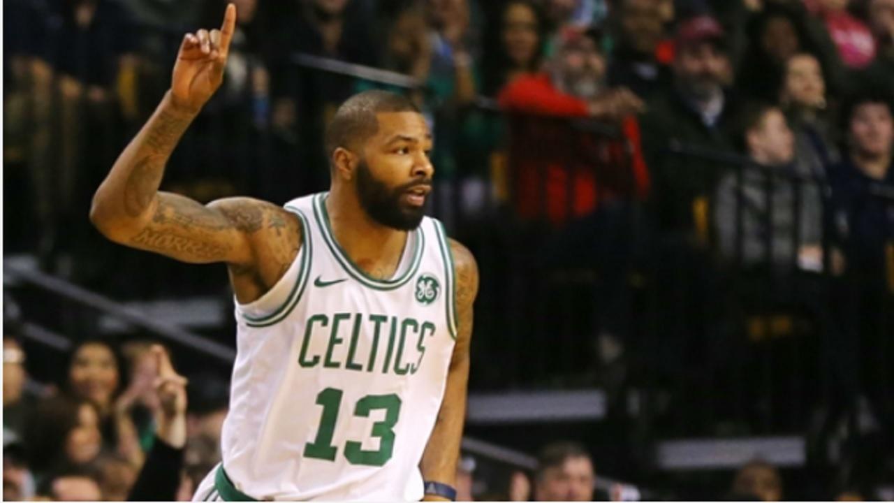 Kevin Garnett Predicts Marcus Morris' Game-Winner, Loses Mind When Celtics Win