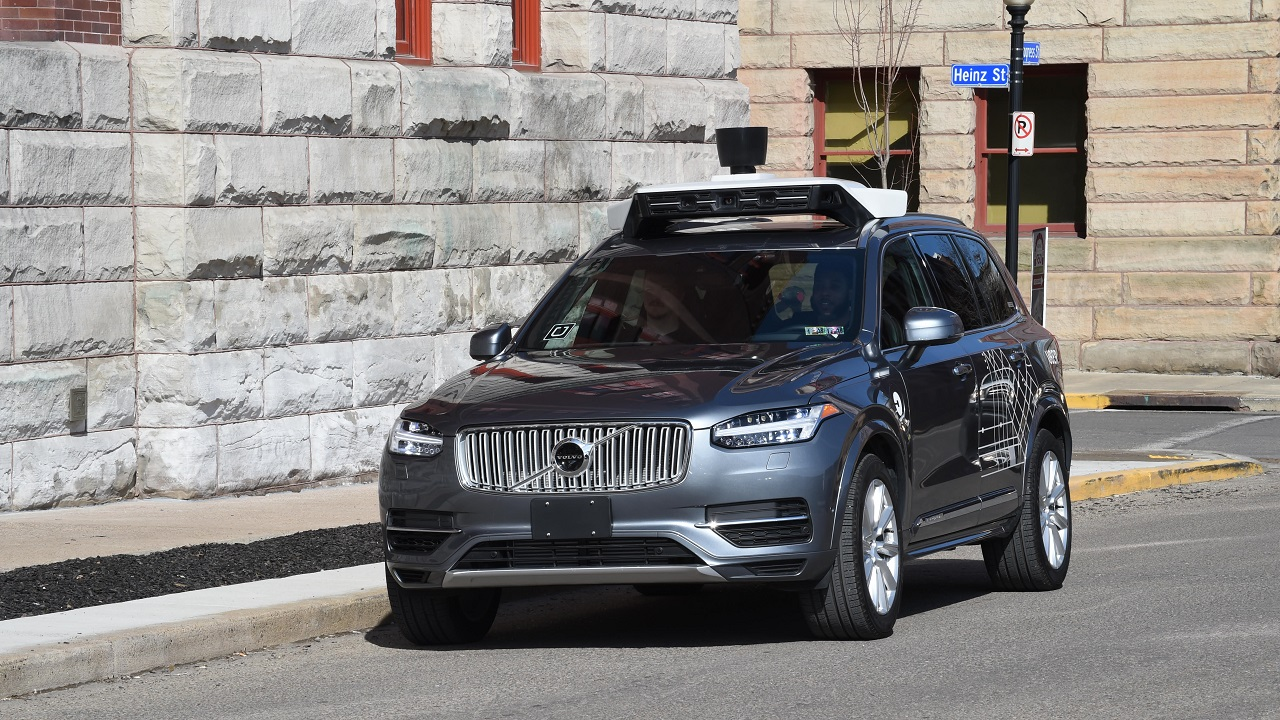 (File image of Uber self-drive car via Uber website)
