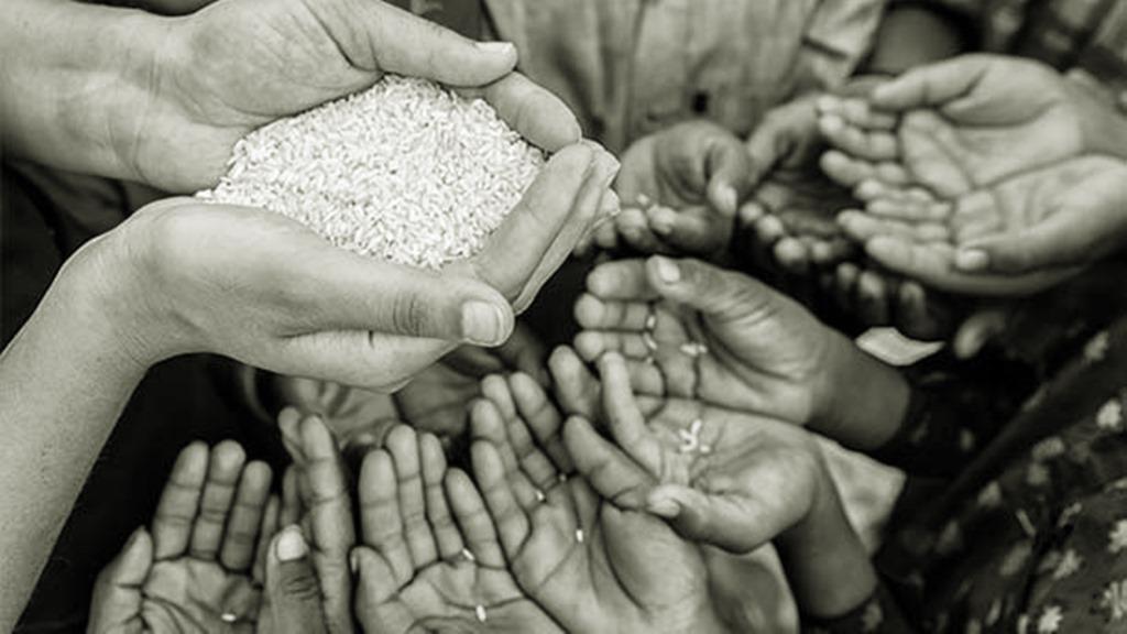815 miljoen mensen lijdt nu aan chronische honger. Foto: Buzzfeed