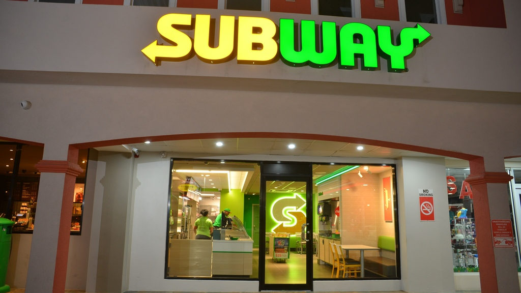 Subway's new look has debuted at the Munroe Road outlet at Sun Plaza