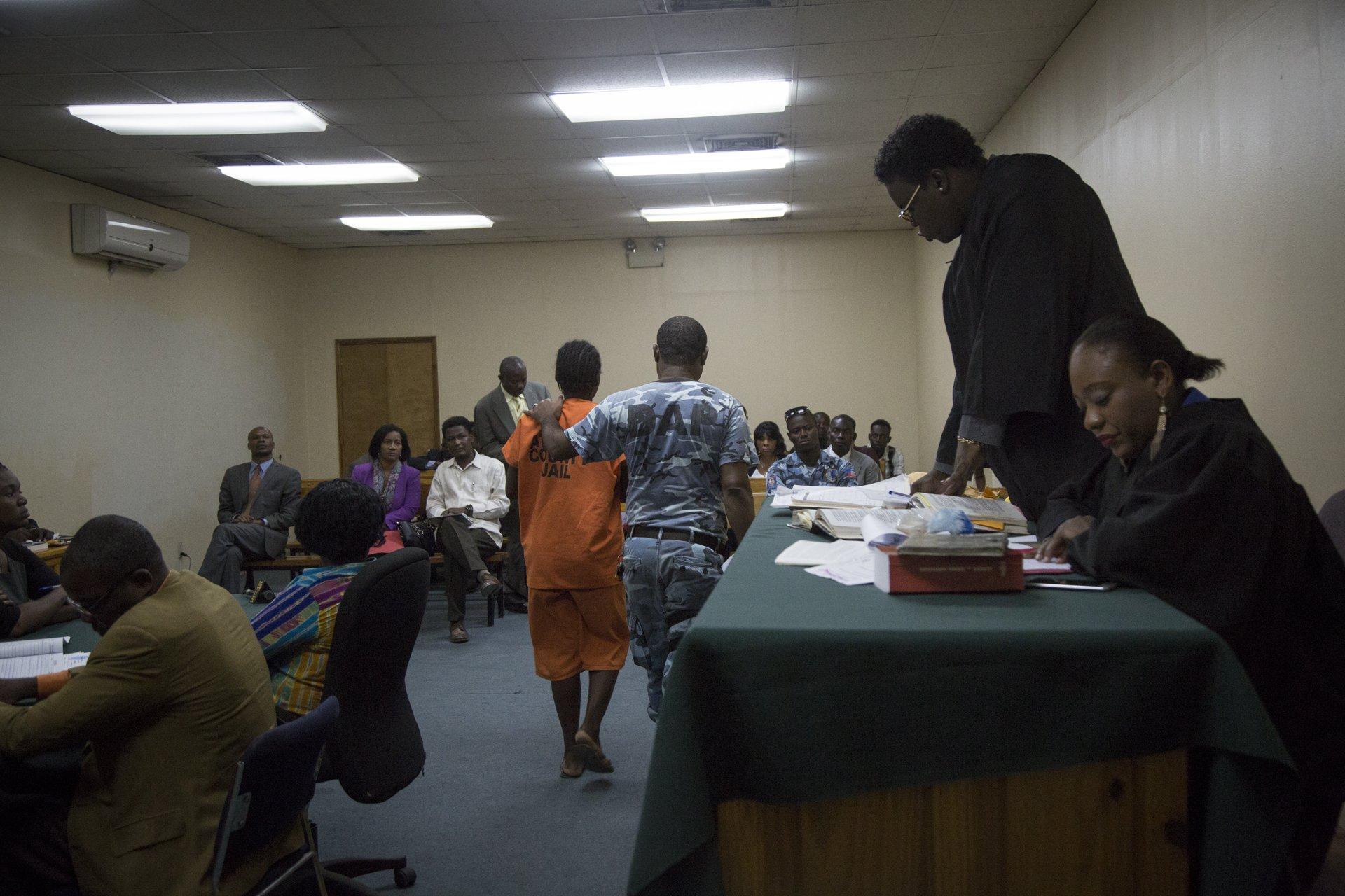 95% des jeunes filles incarcérées en Haïti n'ont pas encore eu la possibilité de voir un juge.