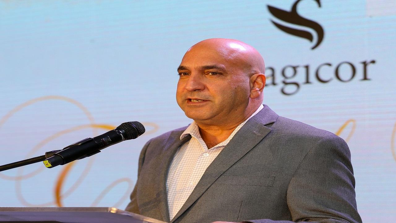 President and CEO of Sagicor Group Jamaica, Christopher Zacca