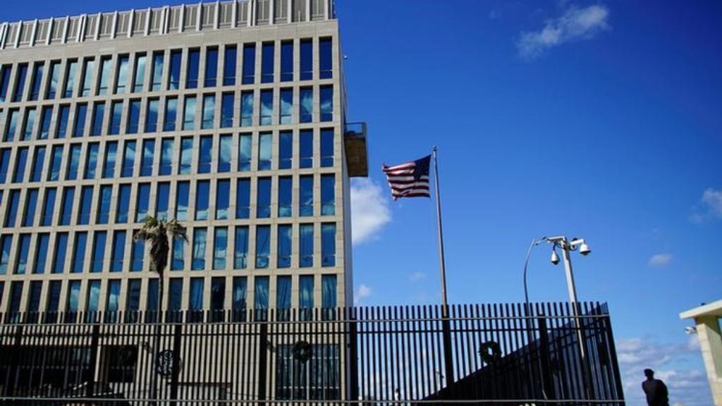 Cuba condemns United States cuts to embassy staff over 'health attacks'