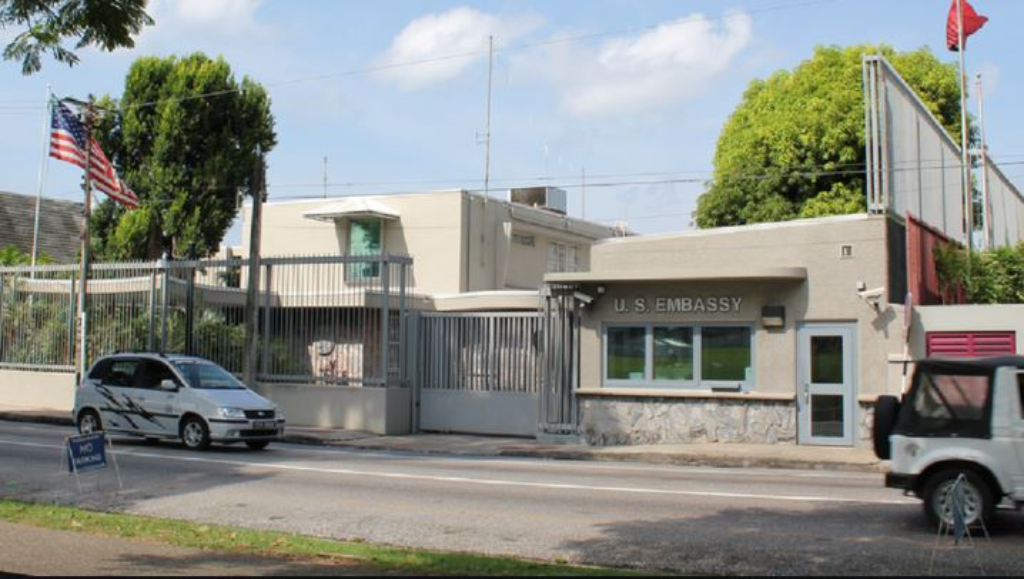 US Embassy, Port-of-Spain, Trinidad and Tobago