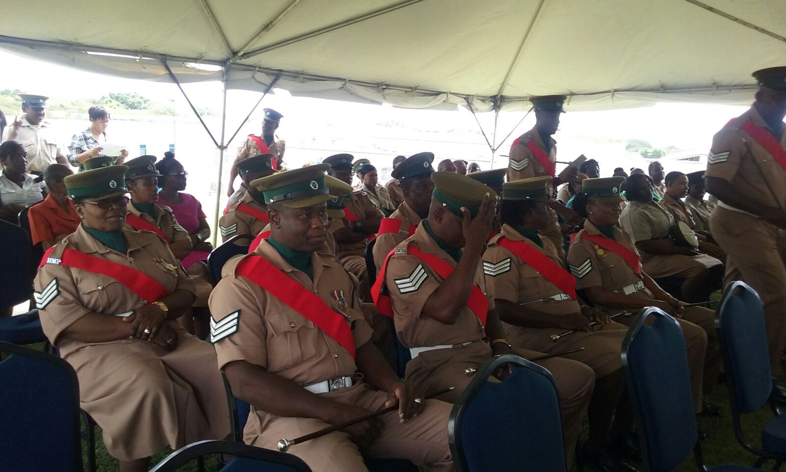 Fifty-five prison officers were promoted to Prisoner Officer 1, in a ceremony at Her Majesty Prison Dodds.