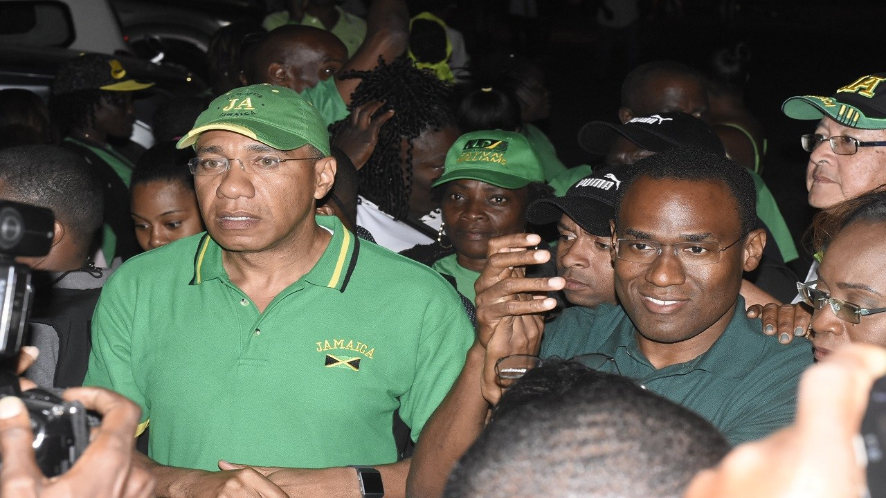 Nigel Clarke was a picture of confidence all day, during which he indicated that he was already planning for the responsibilities of formally representing the constituency in Parliament.