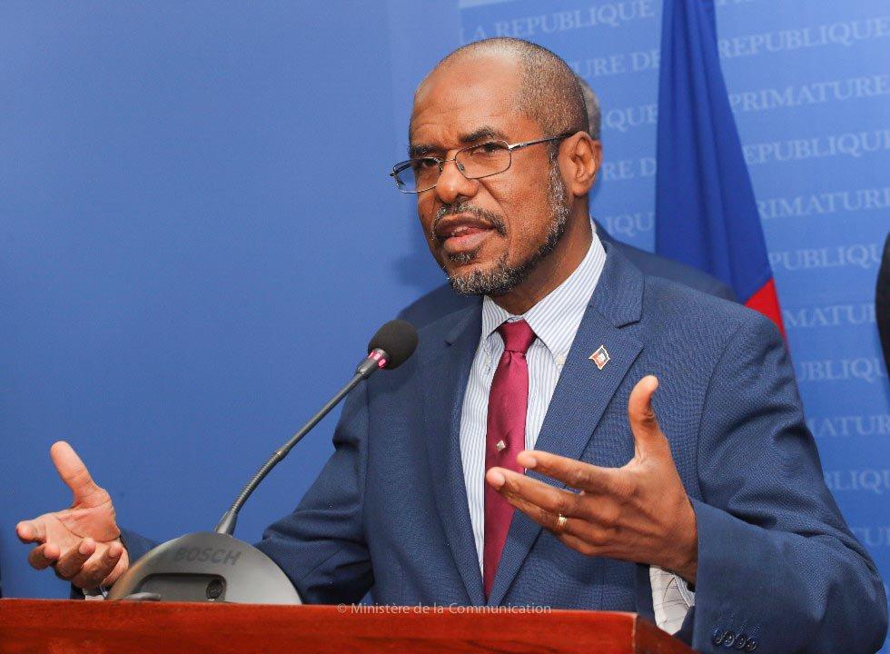 Le Ministre de l'Economie et des Finances, Jude Alix Patrick Salomon