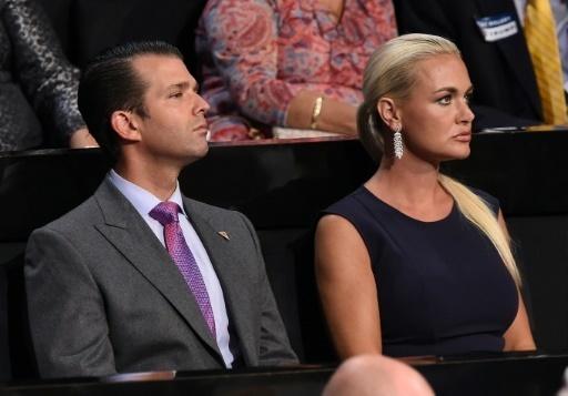 L'épouse de Donald Trump Jr, fils aîné du président des Etats-Unis, a entamé jeudi une procédure de divorce