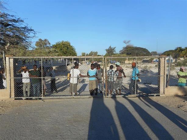 La Frontière haitiano-dominicaine.