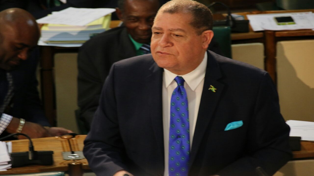 Finance Minister Audley Shaw