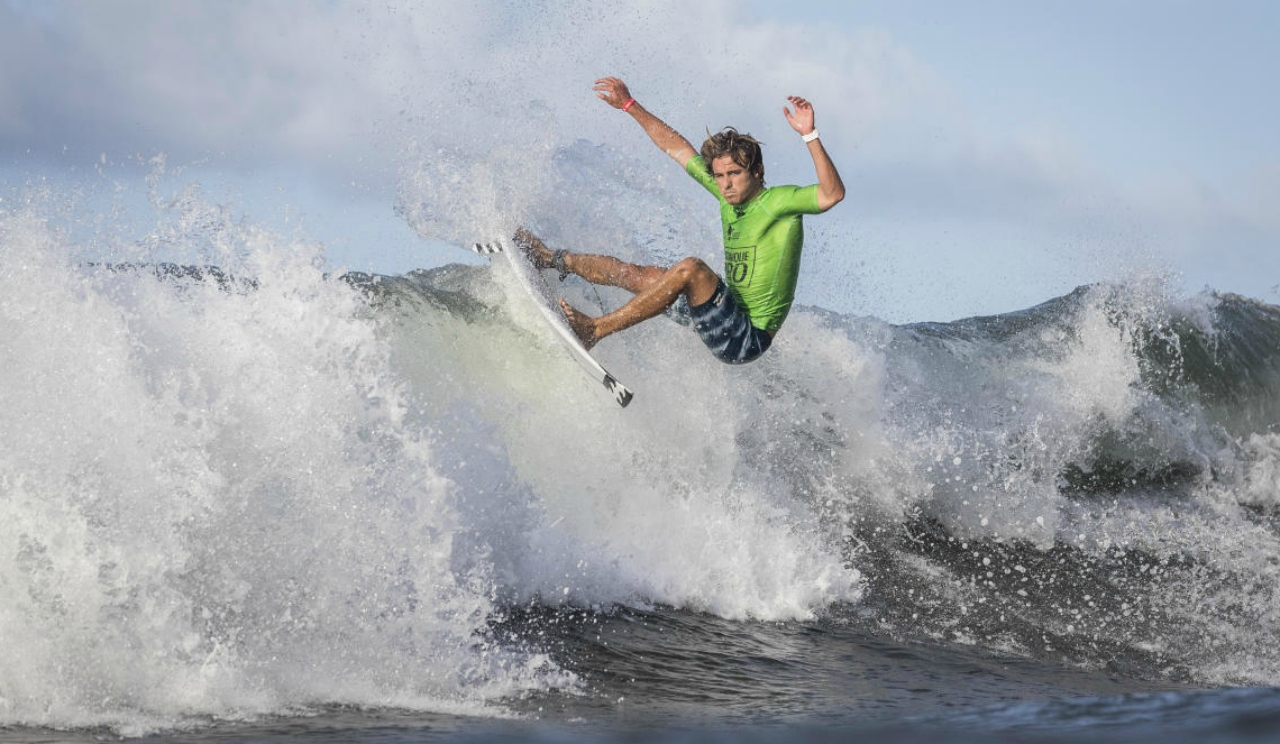 Josh Burke in Martinique (PHOTO: Damien Poullenot)