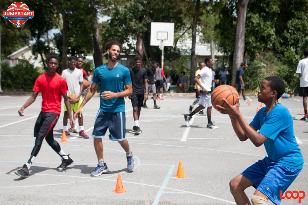 Young basketball lovers showed off their skills while learning and perfecting a thing or two at the Digicel NBA Jumpstart tryouts in Barbados.