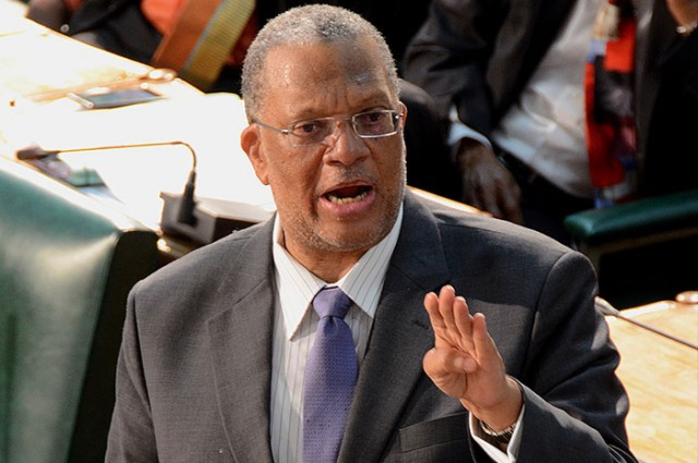 Opposition Leader, Dr Peter Phillips