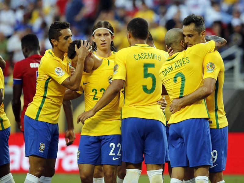 """""""Neymar nous manque"""", """"Remplacer Neymar est une tâche difficile"""", des propos qui reviennent souvent dans la bouche des joueurs de la Seleçao."""