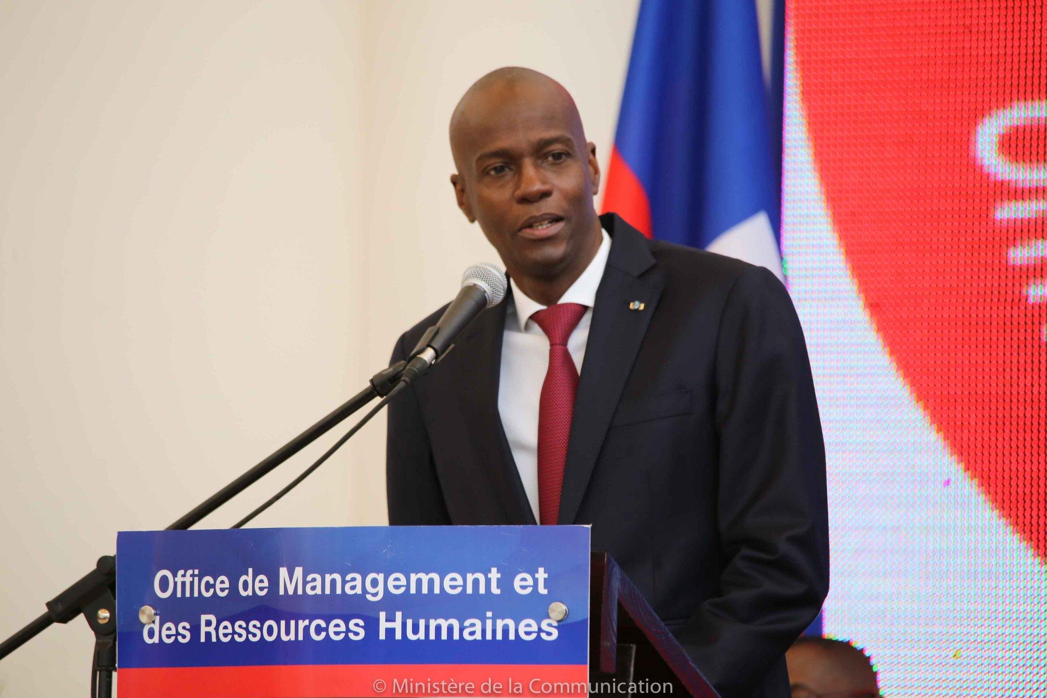 Le président d'Haïti Jovenel Moise au Forum International sur la Reforme de l'Etat