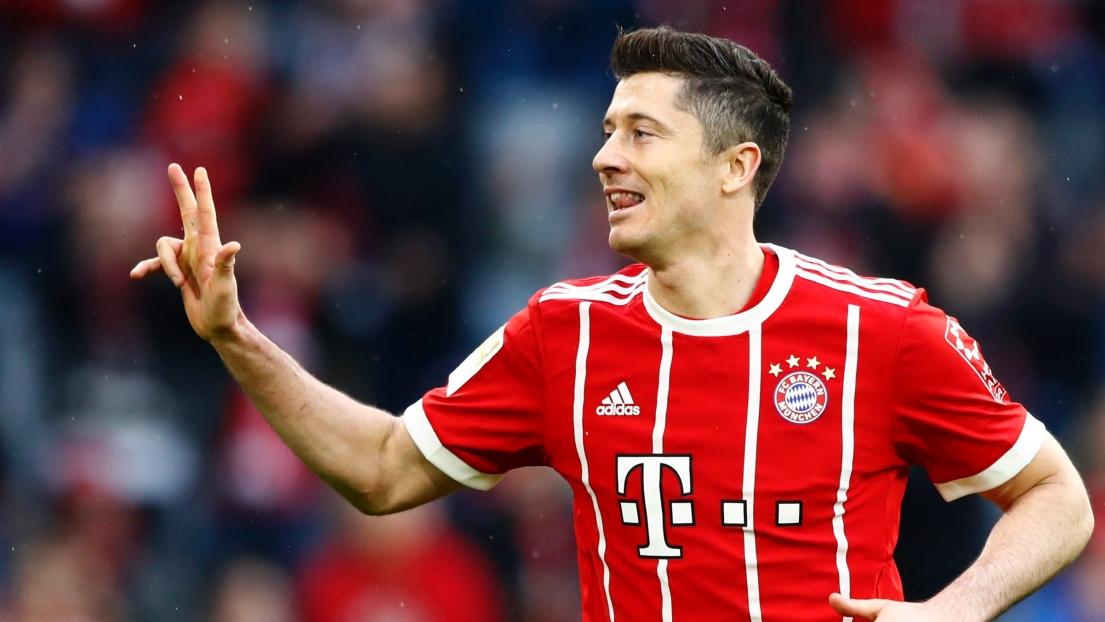 Triplé de Lewandowski, doublé de Ribéry et but de Robben : la vieille garde royale du Bayern a martyrisé Hambourg (6-0) samedi à l'Allianz Arena