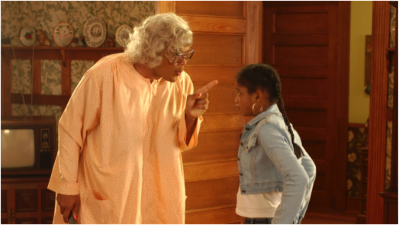 Madea and Nikki (SOURCE: Internet image)