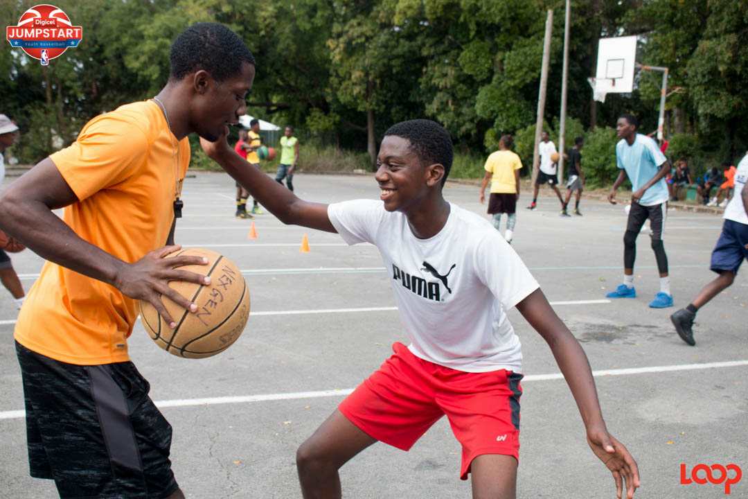 For many the Digicel NBA Jumpstart tryouts were a great blend of fitness, fun and focus today in Barbados.
