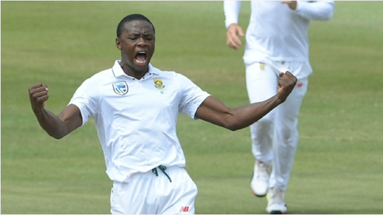 South Africa star Kagiso Rabada.