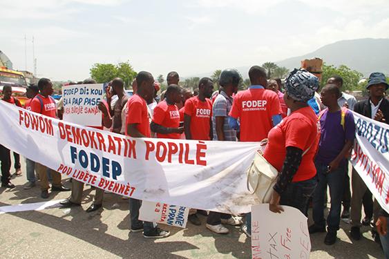 Forum Démocratique Populaire (FODEP) deux sit-in annoncés pour les mercredi 28 mars et mardi 3 avril 2108 .