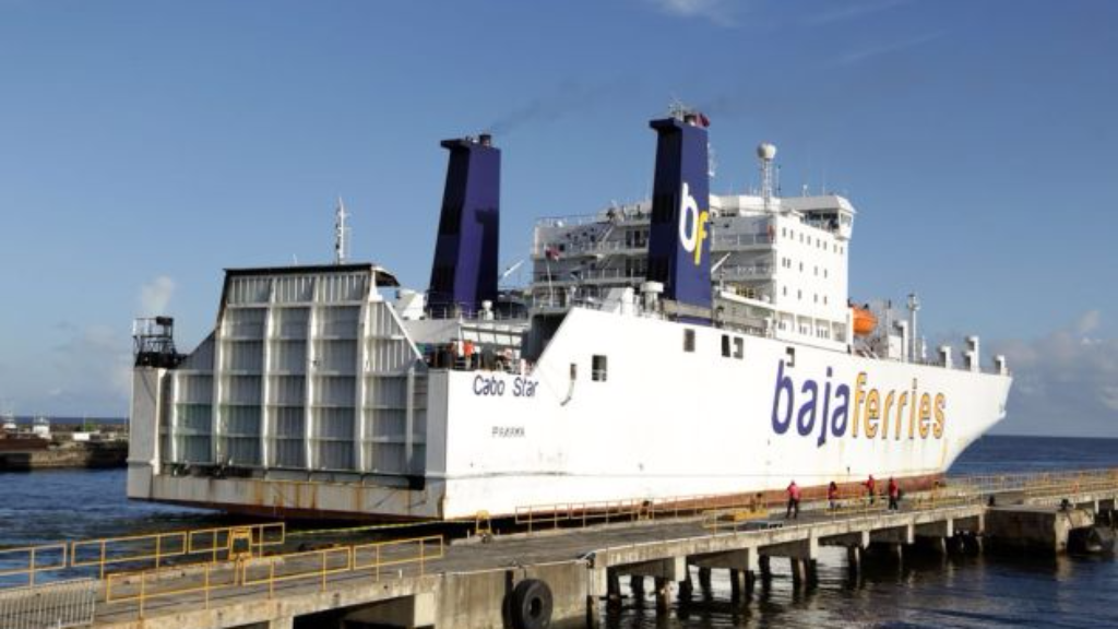 The MV Cabo Star arrived in T&T in July to provide cargo services on the inter-island sea bridge.