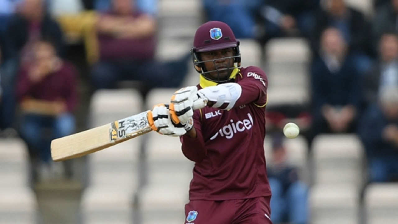 West Indies all-rounder Marlon Samuels.