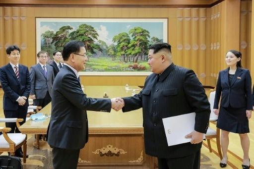 Les dirigeants des deux Corées se retrouveront fin avril pour un sommet historique dans la Zone démilitarisée (DMZ), a annoncé mardi Séoul.