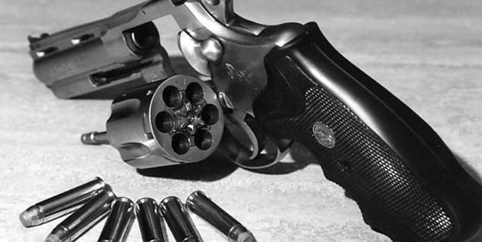 Photo d'un pistolet. Crédit: Police scientifique
