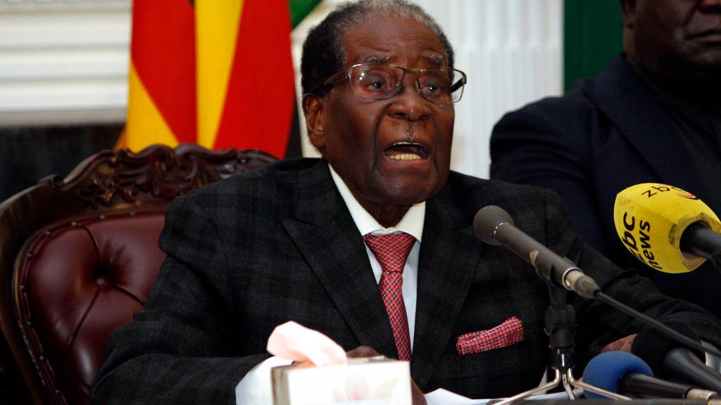 Former Zimbabwean President, Robert Mugabe.