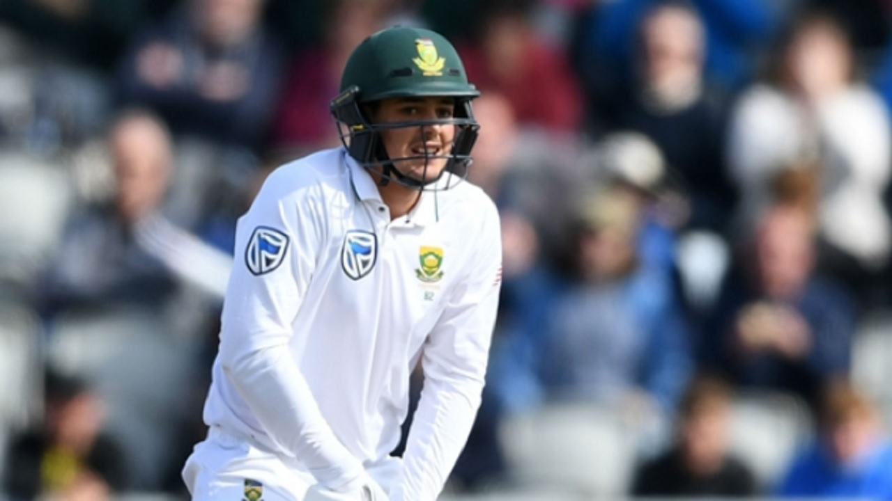 South Africa wicketkeeper-batsman Quinton de Kock